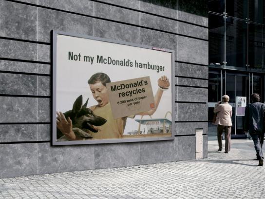 McDonald's Outdoor Ad -  Dog