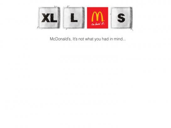 McDonald's Print Ad -  Medium