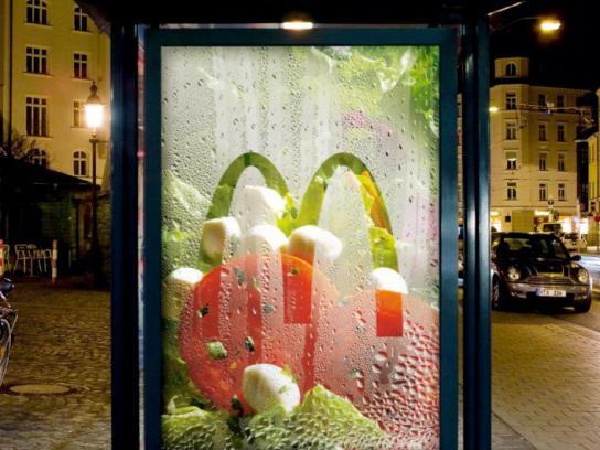 McDonald's Outdoor Ad -  Freshness Box Salad