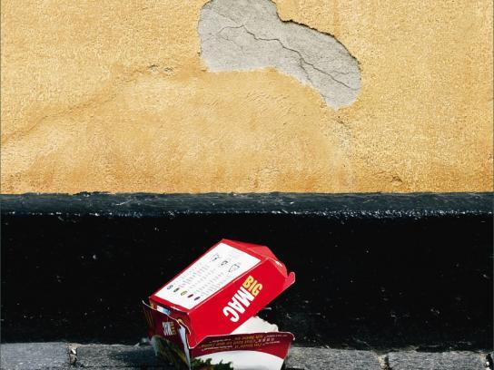 McDonald's Print Ad -  Angry wall, 3