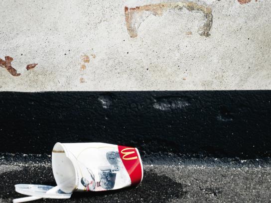 McDonald's Print Ad -  Angry wall, 4