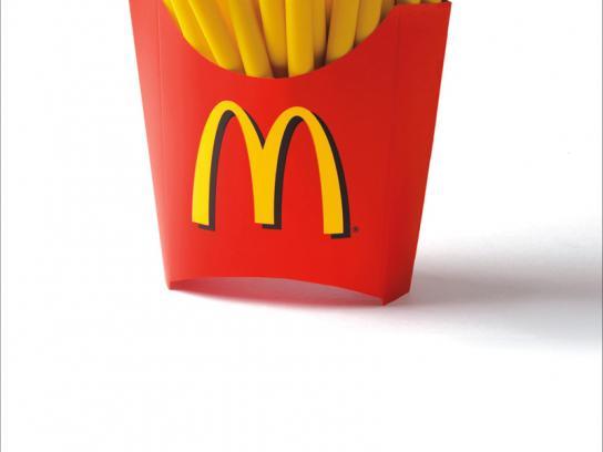 McDonald's Print Ad -  Kiddie crew crayons