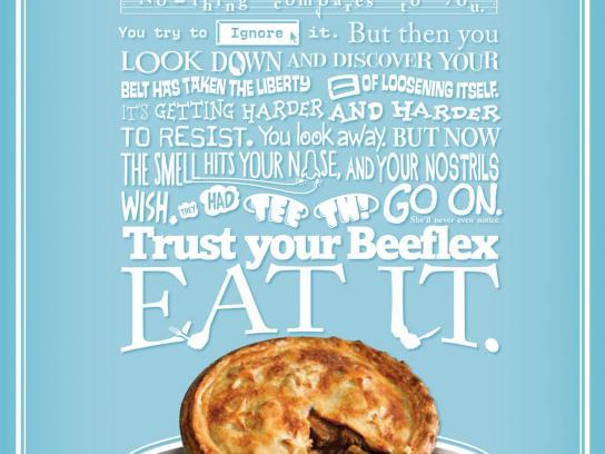 Meat & Livestock Australia Print Ad -  Trust your Beeflex