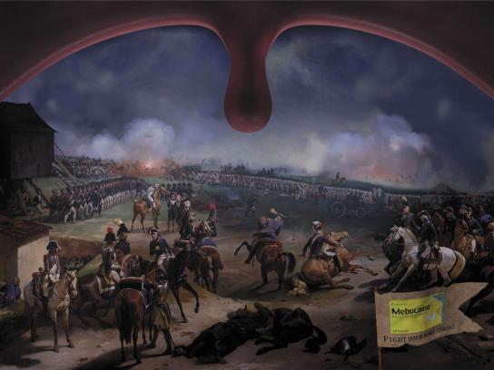 Mebucaine Print Ad -  Battlefield, 2