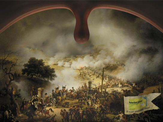 Mebucaine Print Ad -  Battlefield, 3