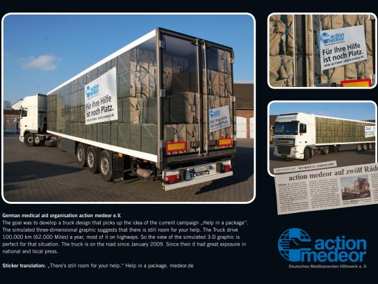 Action Medeor Ambient Ad -  Truck