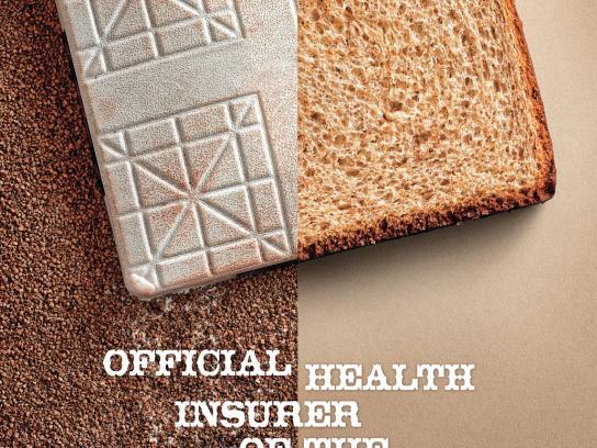Medical Mutual Print Ad -  Bread