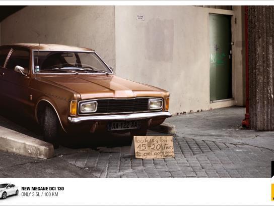 Renault Print Ad -  Homeless Car, 1
