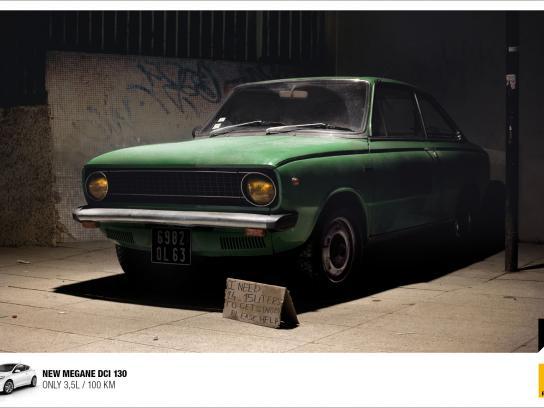 Renault Print Ad -  Homeless Car, 2