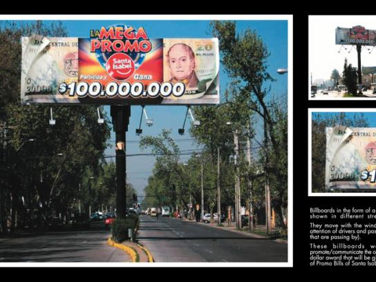 Santa Isabel Outdoor Ad -  Wind