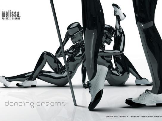 Melissa Print Ad -  Plastic dreams, 1