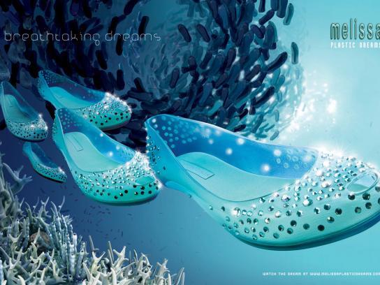 Melissa Print Ad -  Plastic dreams, 2