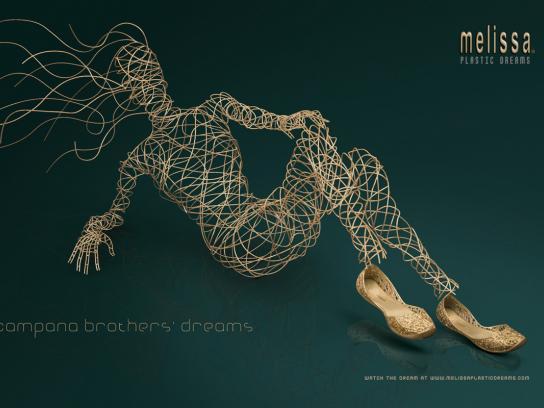 Melissa Print Ad -  Plastic dreams, 4