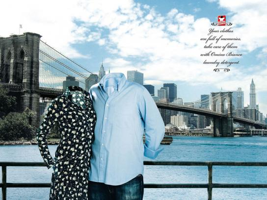 Omino Bianco Print Ad -  Clothes