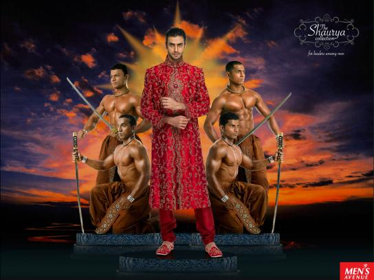 Men's Avenue Print Ad -  The Shaurya Collection, 3