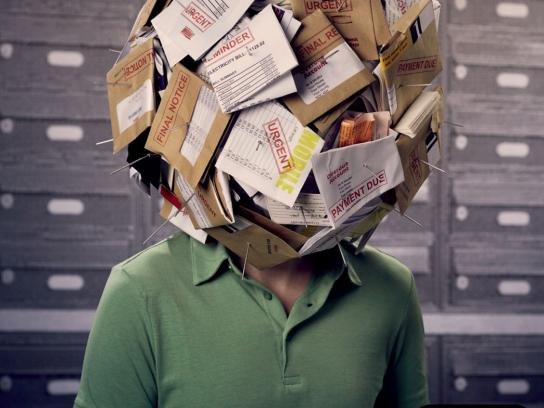 Mental Health Foundation Print Ad -  Manage your stress, 3