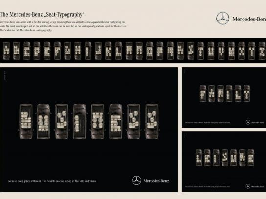 Mercedes Print Ad -  Business