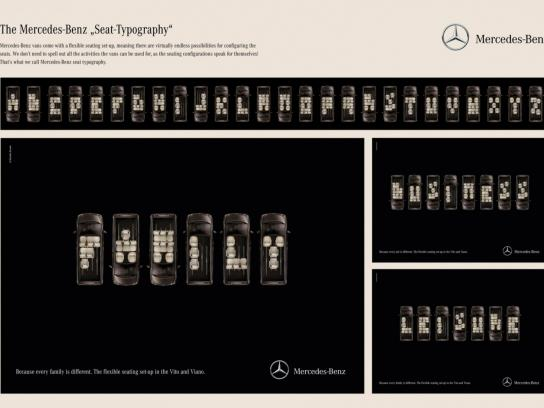 Mercedes Print Ad -  Family