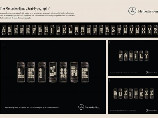 Mercedes Print Ad -  Leisure