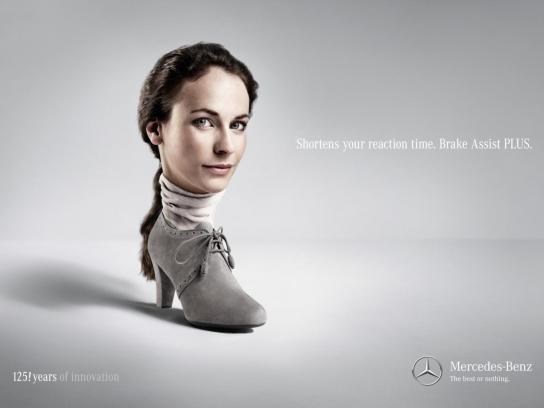 Mercedes Print Ad -  Wiebke