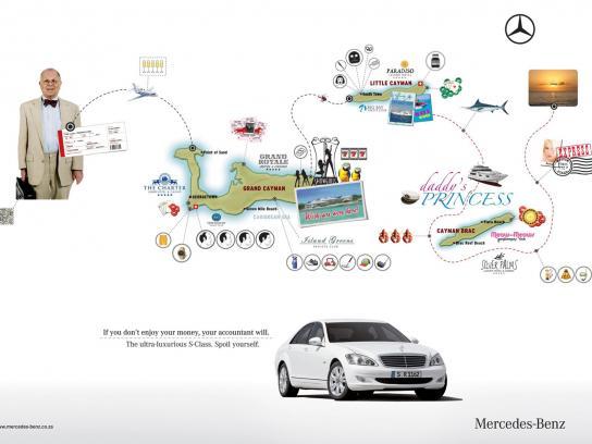 Mercedes Print Ad -  Accountant