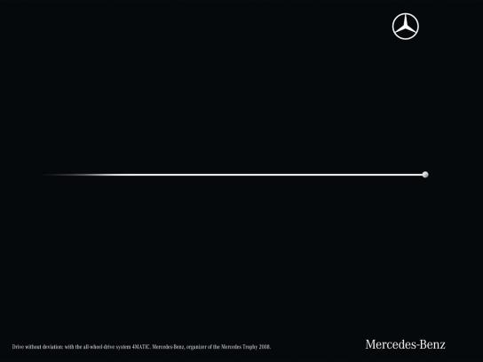 Mercedes Print Ad -  Deviation