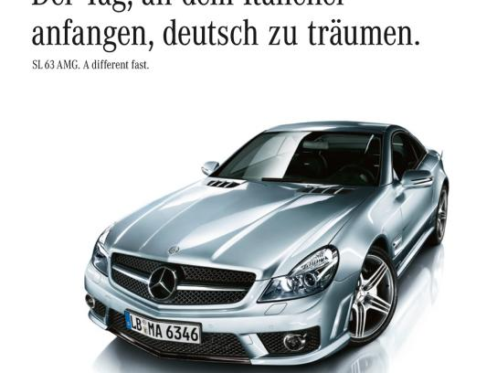 Mercedes Print Ad -  Dream