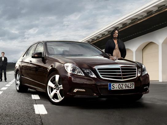 Mercedes Digital Ad -  E-Class Web Special