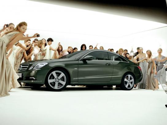 Mercedes Digital Ad -  E-Class Coupé