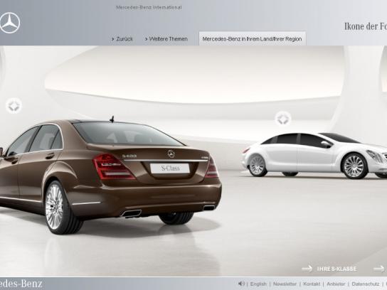 Mercedes Digital Ad -  S-Class 2009 online special