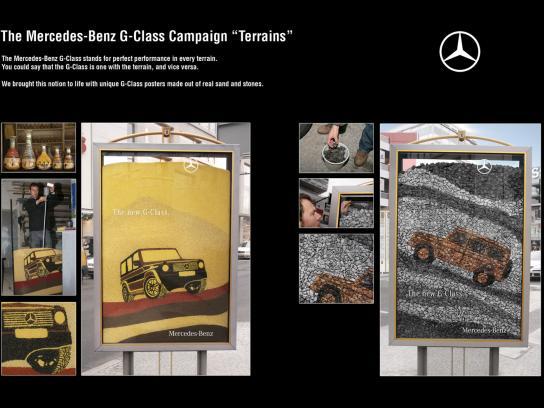 Mercedes Ambient Ad -  Terrains