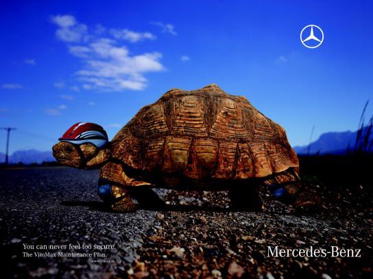 Mercedes Print Ad -  Tortoise
