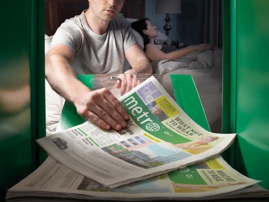 Metro Print Ad -  Bed