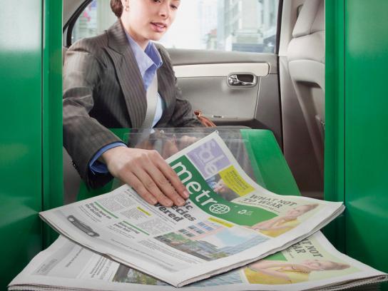 Metro Print Ad -  Car
