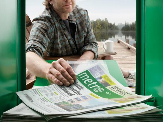 Metro Print Ad -  Dock
