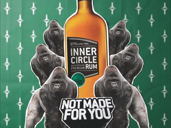 Inner Circle Rum Print Ad -  Gorilla
