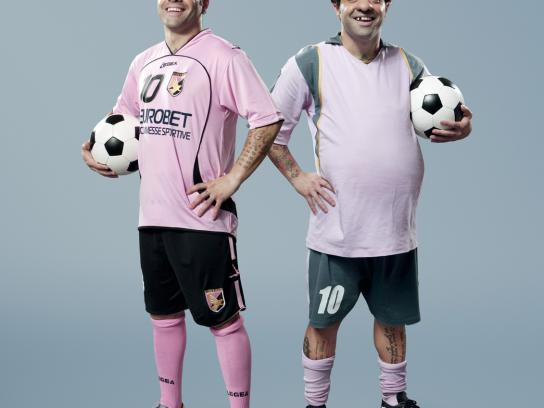 SKY Print Ad -  The most beautiful football, Miccoli