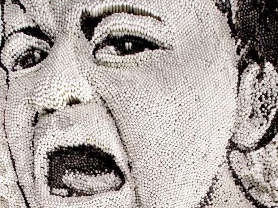 Michou y Mau Print Ad -  Face, 3