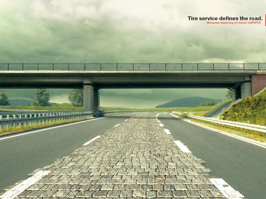 Euroshina Print Ad -  The Paving Stones