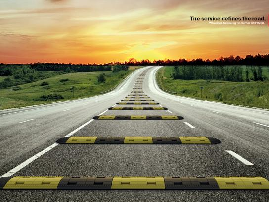 Euroshina Print Ad -  The Speed Bump