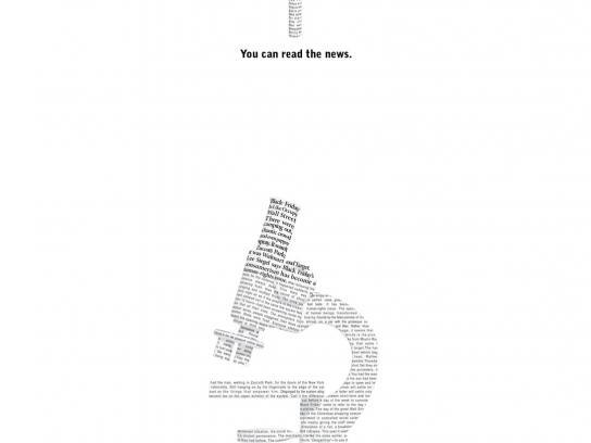 Newsweek Print Ad -  Microscope