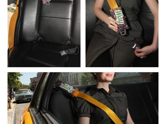 Milky Way Ambient Ad -  Seatbelt