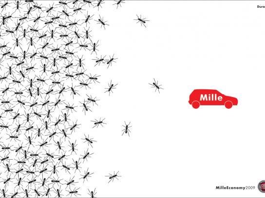 Fiat Print Ad -  Ants