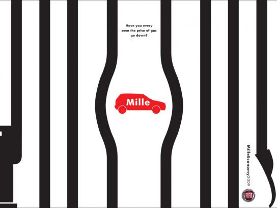 Fiat Print Ad -  Cage