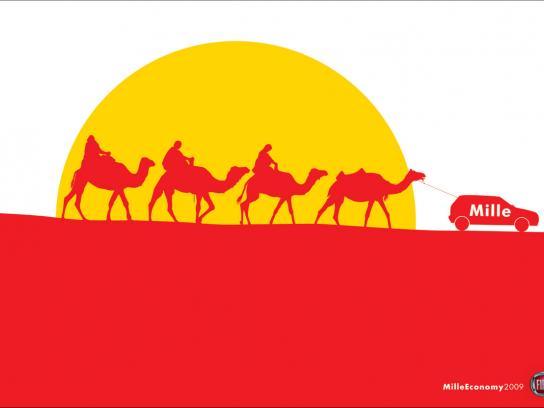 Fiat Print Ad -  Camels