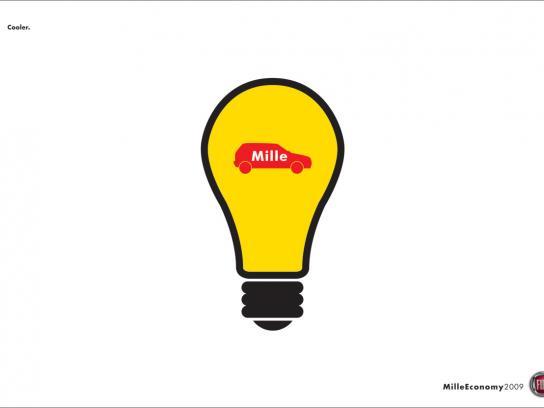 Fiat Print Ad -  Lightbulb