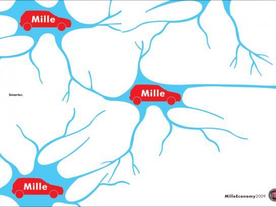 Fiat Print Ad -  Neurons