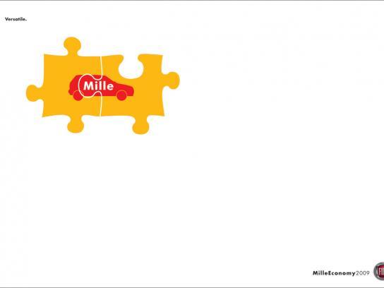 Fiat Print Ad -  Puzzle