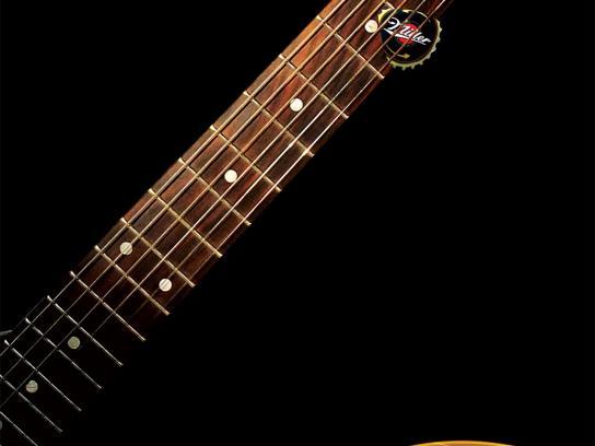 Miller Print Ad -  Guitar