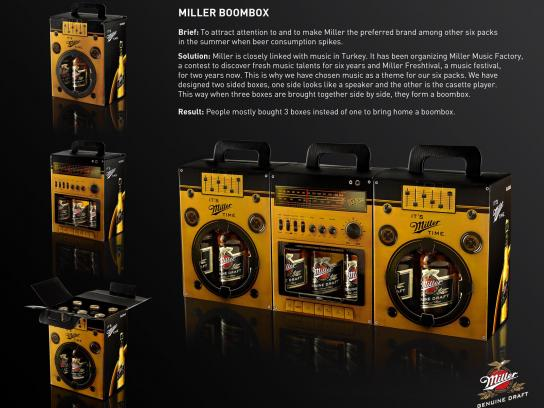 Miller Direct Ad -  Boombox
